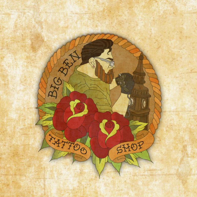 לוגו מקעקעים